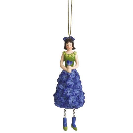 Flower Girl Delphinium Blue 14cm