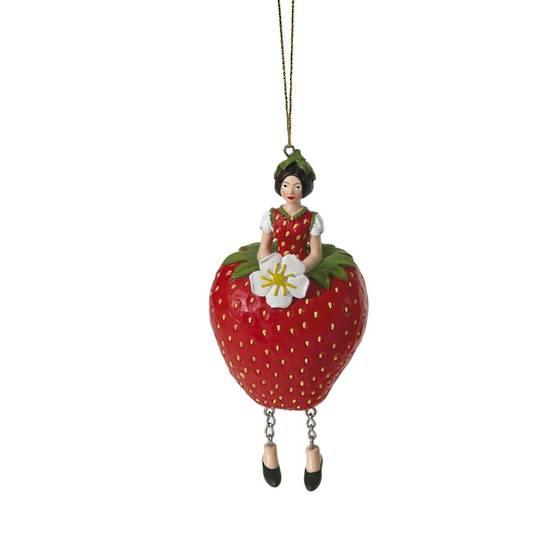 Flower Girl Strawberry Red 11cm