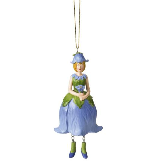 Flower Girl BellFlower Blue 12cm