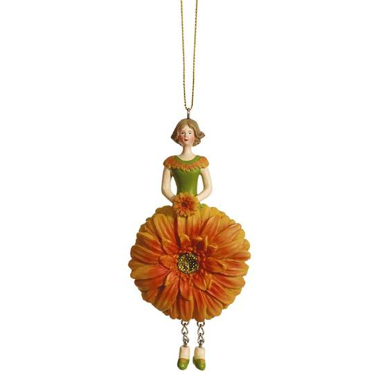 Flower Girl Gerbera Orange 12cm