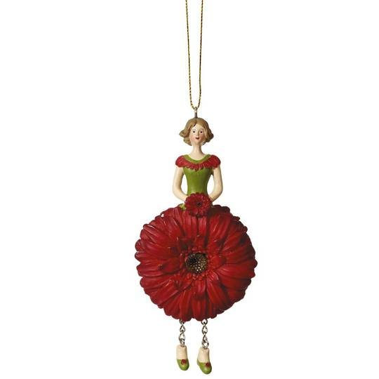 Flower Girl Gerbera Red 12cm