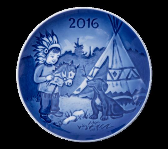 Bing & Grondahl Childrens Day Plate, 2016