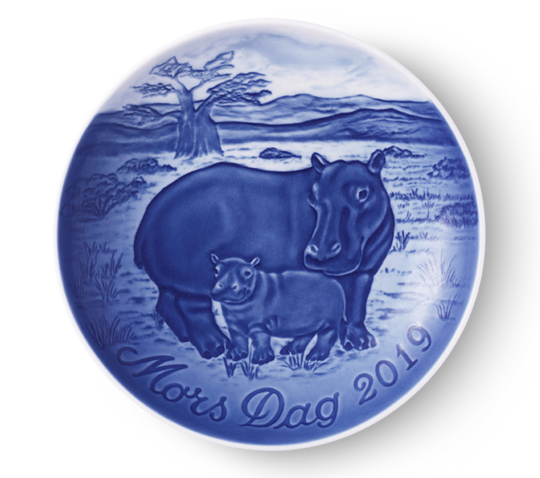 Bing & Grondahl Mother's Day Plate 2019