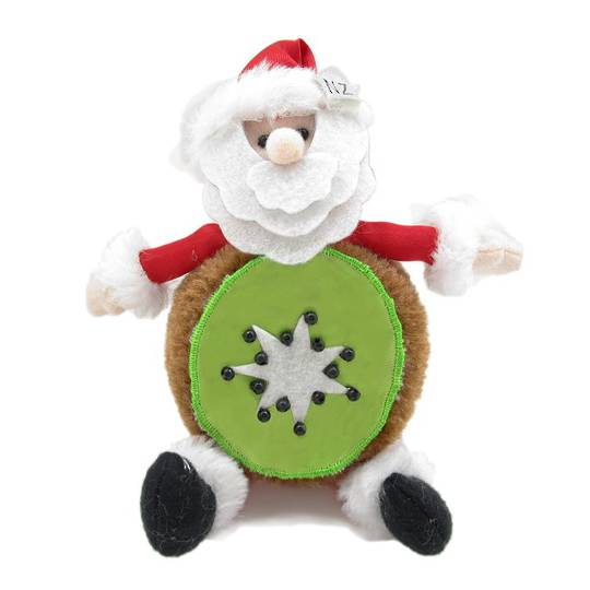 Iconic Fabric KiwiFruit Santa