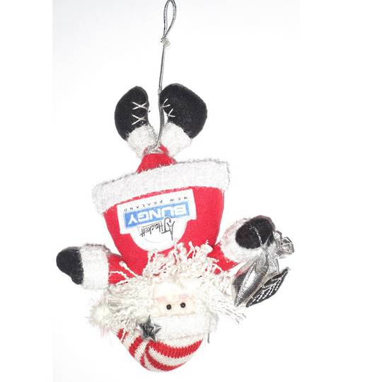 Iconic Fabric Bungy Santa