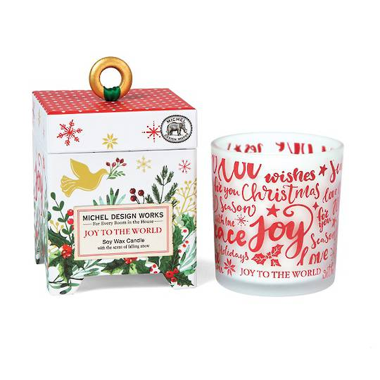 Joy to the World Soy Wax Candle