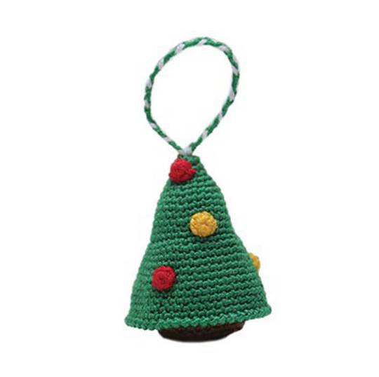 Mini Crocheted Xmas Tree