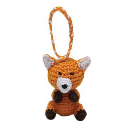 Mini Crocheted Fox