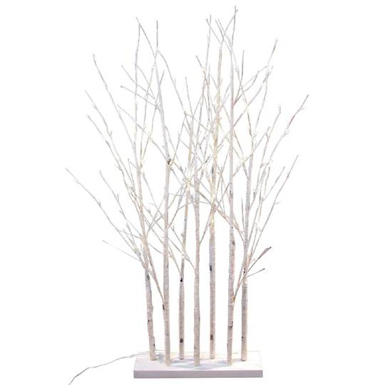 Birch Forest 1.5mtrs, 120 LED Lights