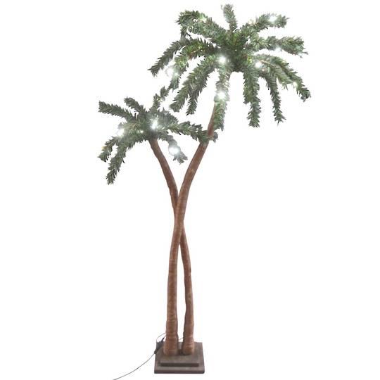 Coconut Palm Tree 1.2mtr, 48 LED Lights