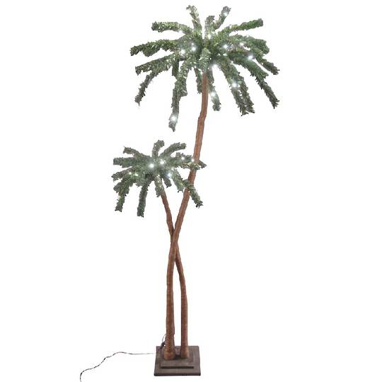 Coconut Palm Tree 1.8mtrs, 96 LED Lights