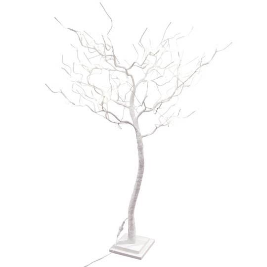 White Shrub 1.2mtrs, 78 LED Lights