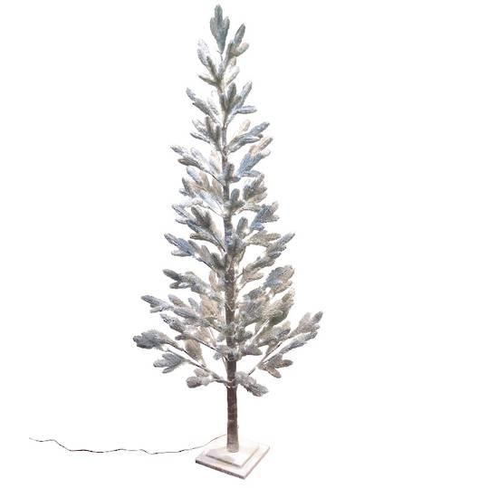 Snowy Pine Tree 1.8mtr, 88 LED Lights
