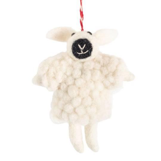 NZ Wool, Woolly Sheep 11x9cm