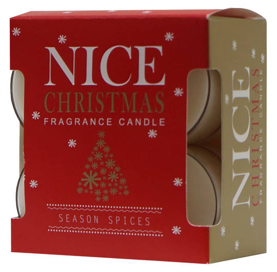 Nice Christmas Scented Tea Lights, Pack 8