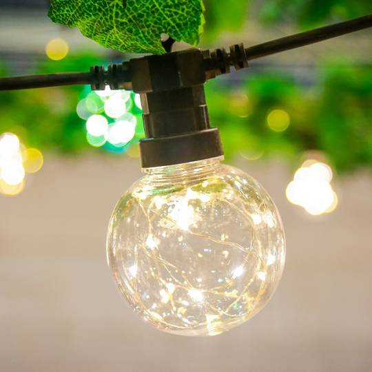 Twinkle Sphere Lights 5mtr, Water Resistant