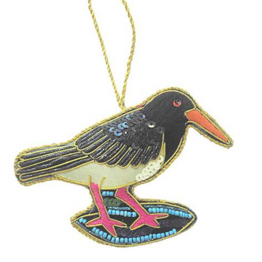 Hanging NZ Bird, Oyster Catcher / Torea