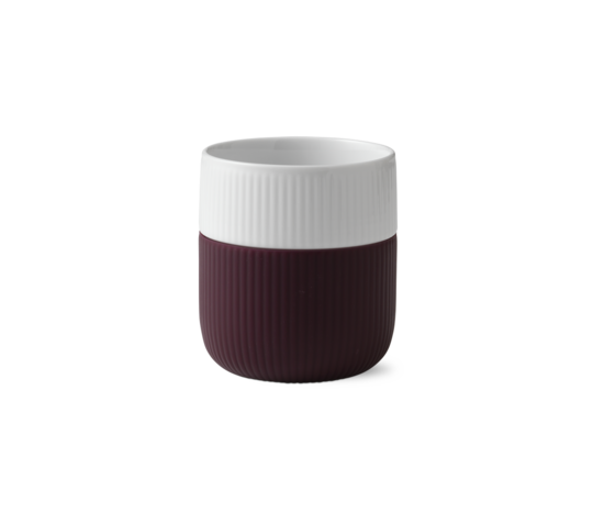 Royal Copenhagen Mug w/Silicon Sleeve, Plum