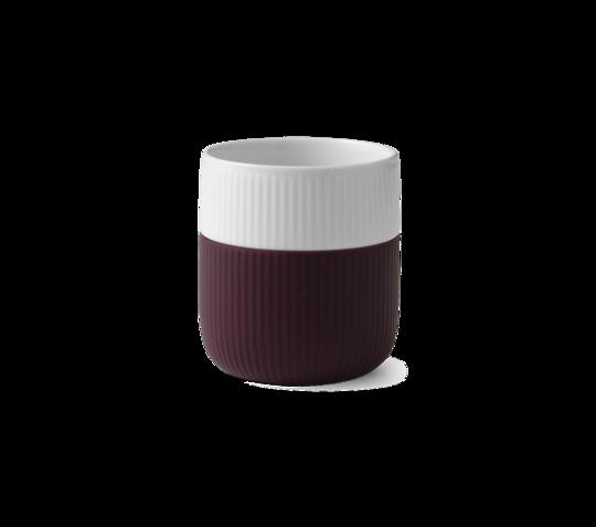 Royal Copenhagen Mug w/Silicon Sleeve, Plum