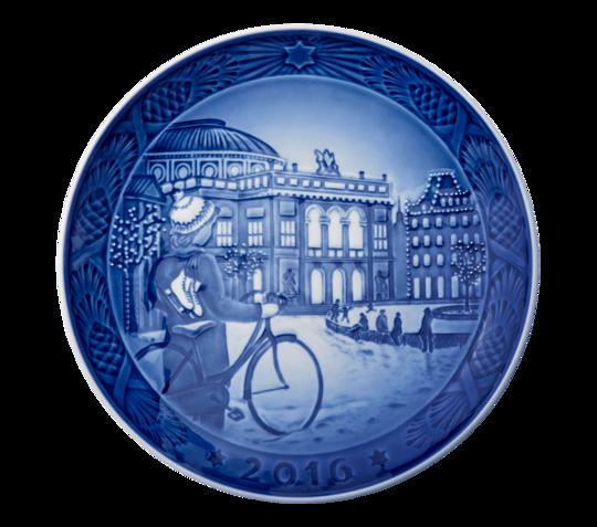 Royal Copenhagen Christmas Plate, 2016