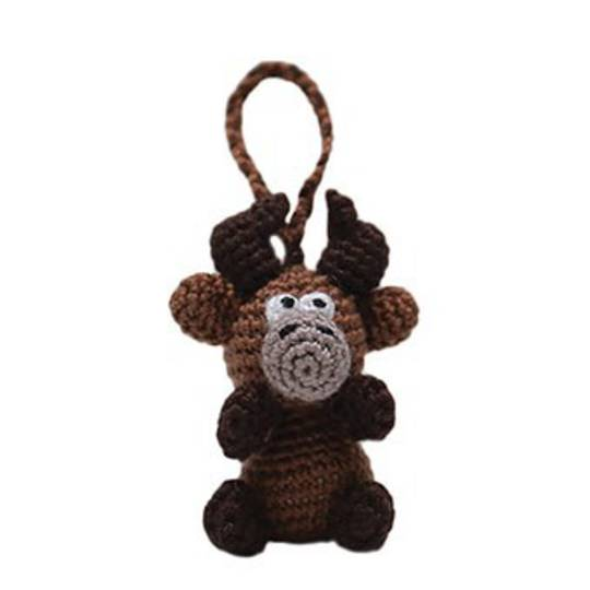 Mini Crocheted Reindeer