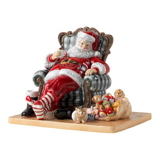 Royal Doulton Santa's Restful Moment