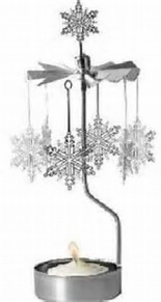 Rotary Candle Holder SnowStar