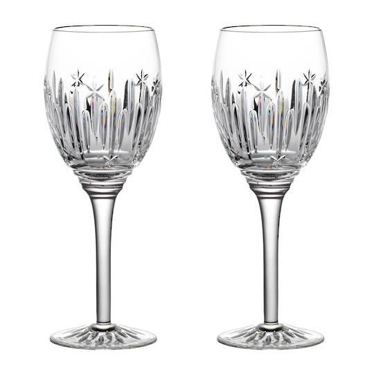 Waterford Winter Wonders Midnight Frost Wine Glass, Pair 2021
