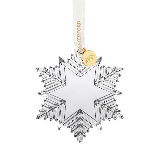 Waterford Annual Snow-Crystal 2021, Dated