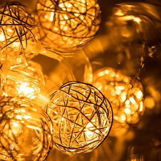 Wire Orb Fairy Lights 2mtr SOLD OUT