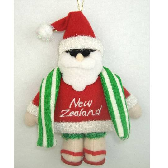 Iconic Fabric Beach Santa