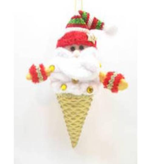 Iconic Hokey Pokey IceCream Santa