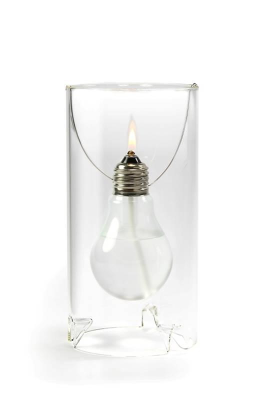 OD Edison Oil Lamp, Small