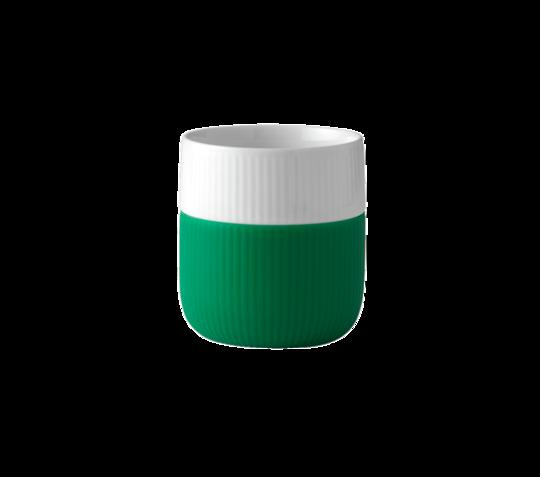 Royal Copenhagen Mug w/Silicon Sleeve, Grass Green