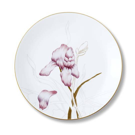 Flora Iris Plate 22cm