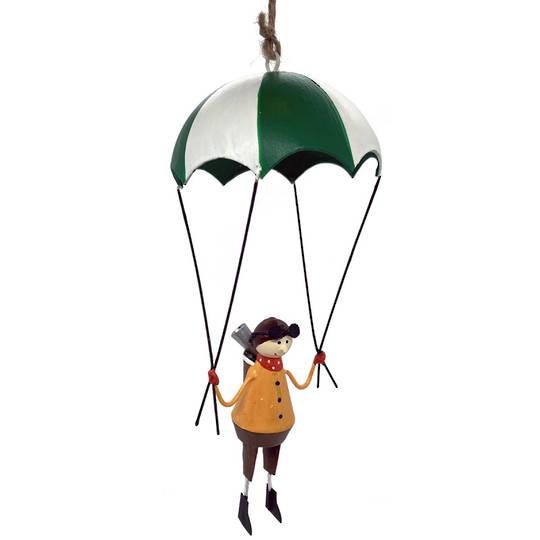 Tin Pilot Parachute 19cm