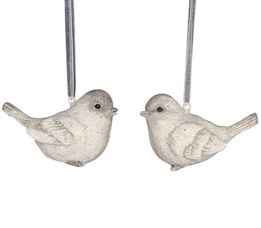 Resin Cream/Natural Bird