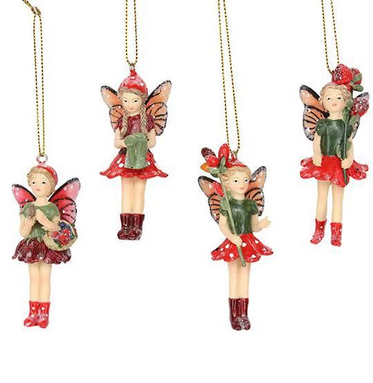 Resin Standing Toadstool Fairy