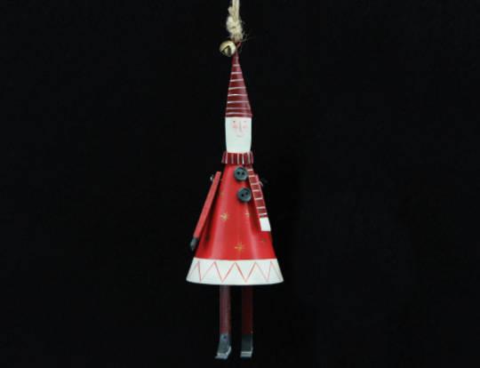 Tin Cone New England Santa