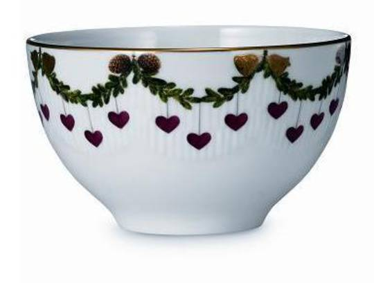 Starfluted Christmas Small Bowl