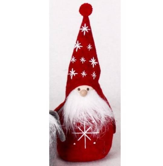 Rotund Santa with Starry Hat