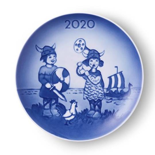 Bing & Grondahl Annual Child's Day Plate 2020