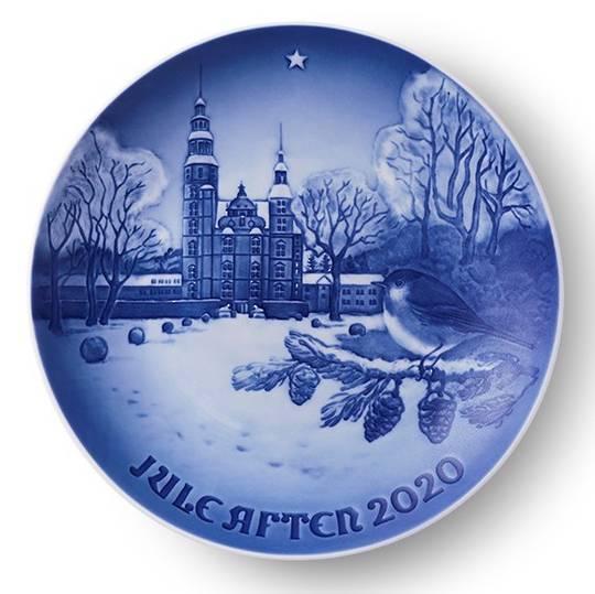 Bing & Grondahl Annual Xmas Plate 2020