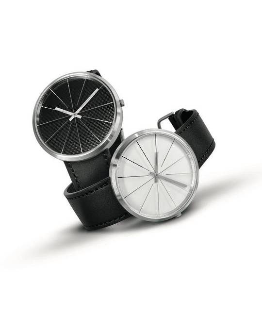 Pierre Junod,Carouge, White Face 40mm, Steel Strap