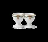 StarFluted Christmas Egg Cups (pair)