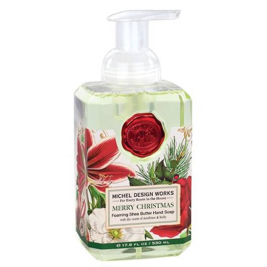 Merry Christmas Foaming Soap