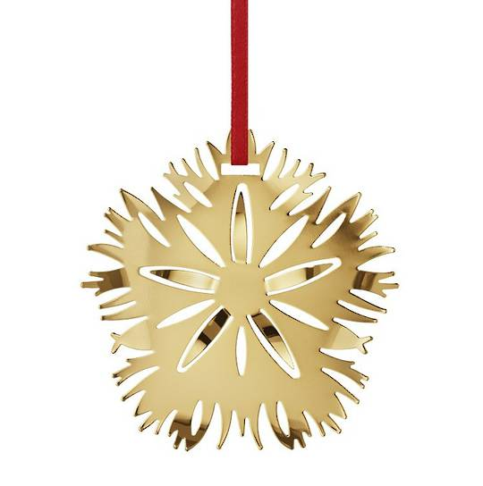 Georg Jensen Holiday Ornament 2020, Ice Dianthus