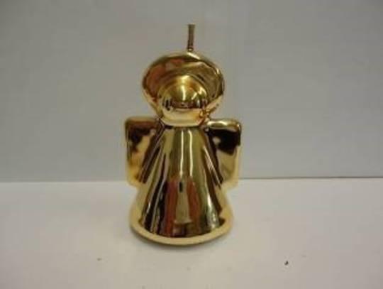 Metallic Mini Angel Candle 60x45mm