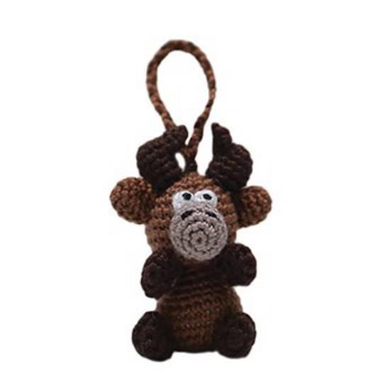 Mini Crocheted Reindeer