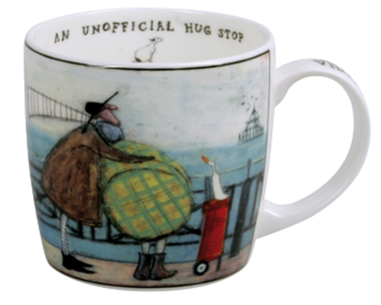 Sam Toft Mug, An Unofficial Hug Stop